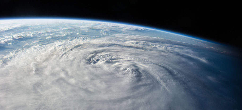 Typhoon Halong Seen from the International Space Station